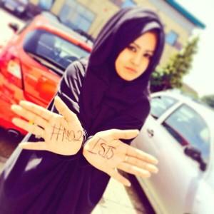 No to ISIS wanita