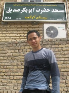 Travelling Iran Masjid Abu Bakr Shidq ra