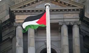bendera palestina glasgow