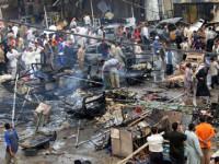 """Serangan Bom Mobil """"Kembar"""" Terjang Beberapa Kota Irak"""