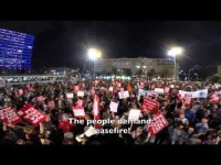 Ribuan Warga Israel Berdemo Tuntut Hentikan Perang