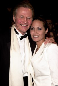 Jon Voight & Angelina Jolie (Photo by Jeff Vespa/WireImage)