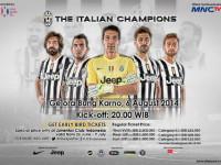 Juventus Pilih Indonesia di Laga Pertama Pramusim