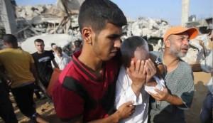 استشهاد 4 فلسطينيين بقصف اسرائيلي على غزة