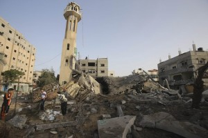masjid mina di gaza