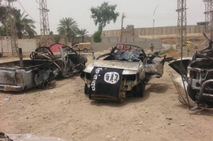 mobil isis hancur di irak