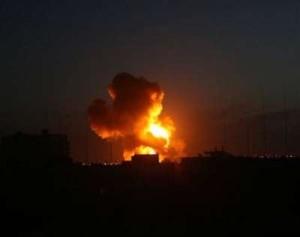 palestina bomb explosian