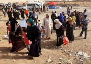 pengungsi mosul irak
