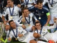 Real Madrid Menangi Piala Super Eropa