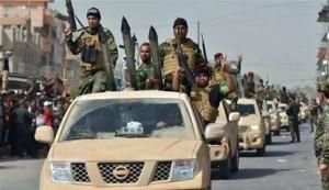 تقدم للجيش العراقي لفك حصار بلدة آمرلي من قبل داعش