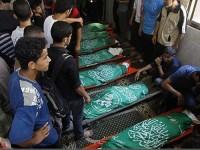Syuhada Palestina Jadi 1,696 Orang