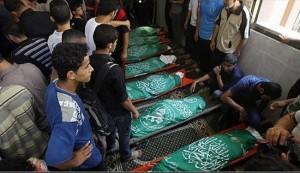 شهداء جدد بالعدوان على غزة وحصيلة الشهداء تتجاوز 1500