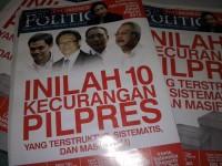 Tabloid The Politic, foto: Fajruddin