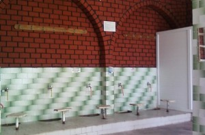 Tempat berwudhu di Masjid Andizli, foto: Dian Akbas