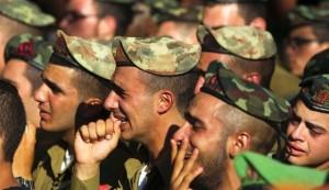 tentara israel menangis3