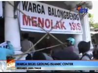 Disinyalir Terkait ISIS, Warga Segel Gedung Islamic Center