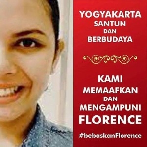 yogya memafkan florence