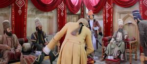 Raja Karim Khan Zand menerima tamu