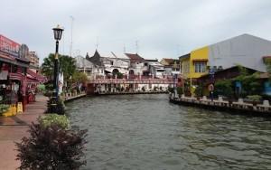 Travelling Malaka, sungai jembatan