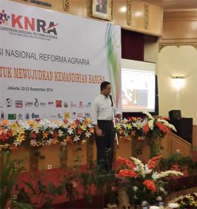 Anies Baswedan membuka KNRA