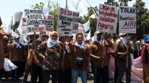 Demo Hari Tani 2014