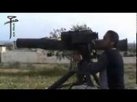 Militan Suriah Gunakan Senjata Anti-Tank AS