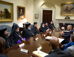 obama with christian leaders