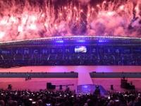 pembukaan Asian Games (foto: AFP)