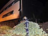 Protes Pemerintah, Petani Perancis Bakar Kantor Pajak