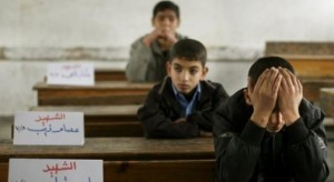 siswa gaza palestina2