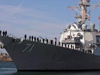 Kapal Perang AS Kembali Masuki Laut Hitam