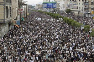 yaman demo akbar