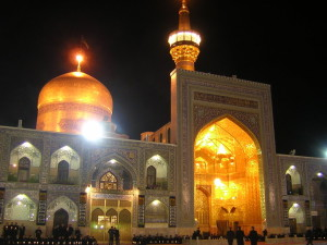 Holy Shrine Imam Ridha. Foto: www.taghribnews.com