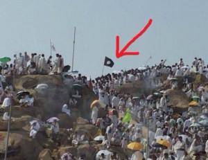 bendera isis di arafah1