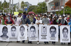 demo pelajar mexico