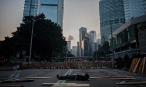 demo sepi hongkong