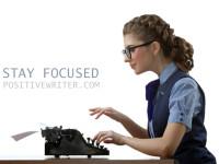 Hobi Menulis? Fokuslah Pada Tulisan!