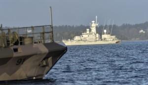 kapal perang swedia