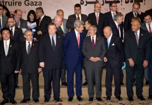 konferensi rekonstruksi gaza