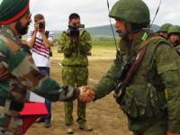 Latihan Perang Rusia-India di Selatan Rusia Berakhir