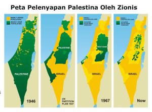peta pelenyapan palestina