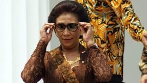 Menteri Perikanan, Susi Pudjiastuti (foto:tempo)