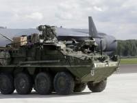 Kendaraan-Kendaraan Militer AS Tiba di Estonia