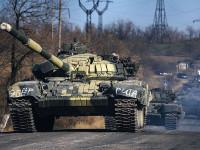 Ukraina Tuduh Puluhan Tank Rusia Menerobos Masuk