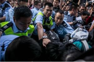 bentrok hongkong