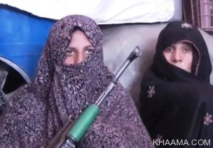 ibu militan afghanistan