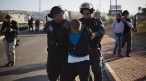 israel tangkap pemuda palestina