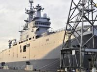 Perancis Tetap Tunda Pengiriman Kapal Perang Rusia