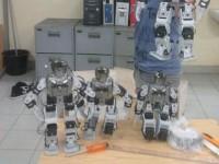 Robot Humanoid Universitas Riau/konfrontasi.com