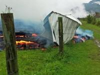 Rumah Pertama Hancur oleh Lahar Panas Hawaii
